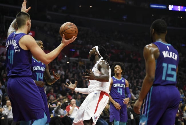 Image result for Charlotte Hornets vs Los Angeles Clippers