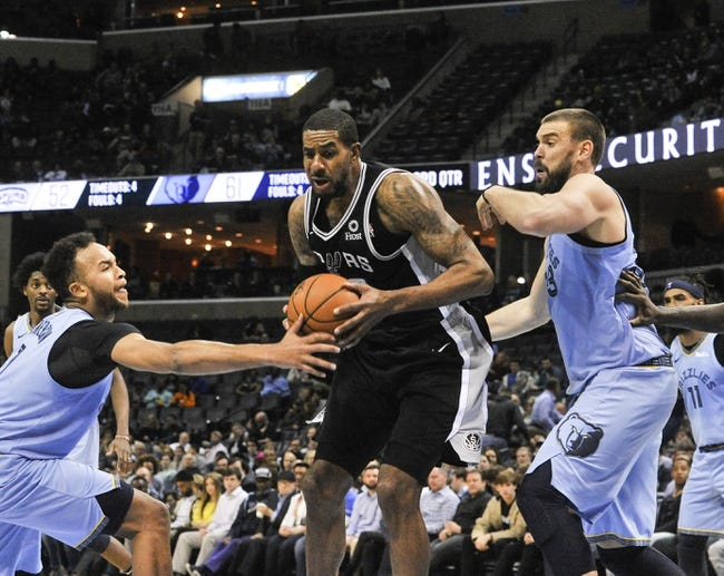 NBA | San Antonio Spurs at Memphis Grizzlies