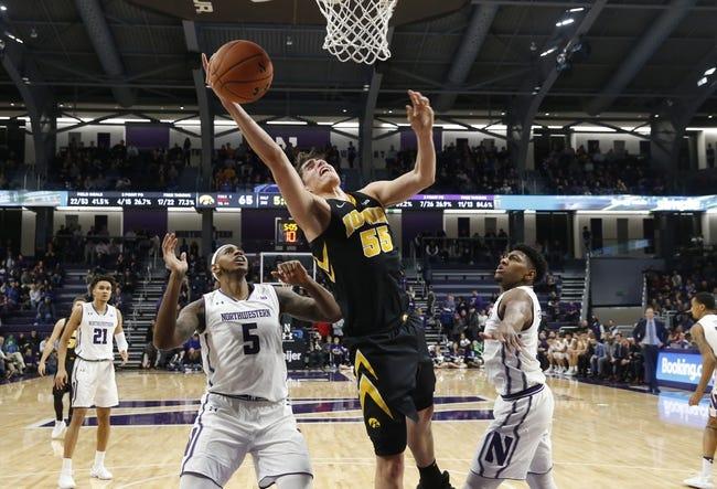 NCAA BB | Northwestern at Iowa