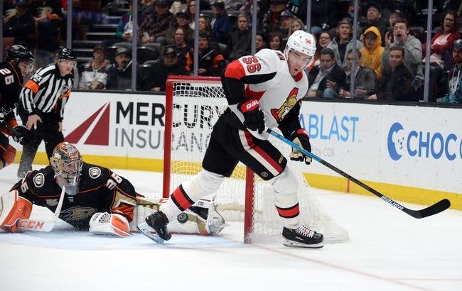 NHL | Anaheim Ducks at Ottawa Senators