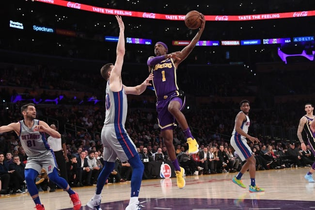 NBA | L.A. Lakers at Detroit Pistons