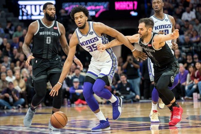 NBA | Sacramento Kings at Detroit Pistons