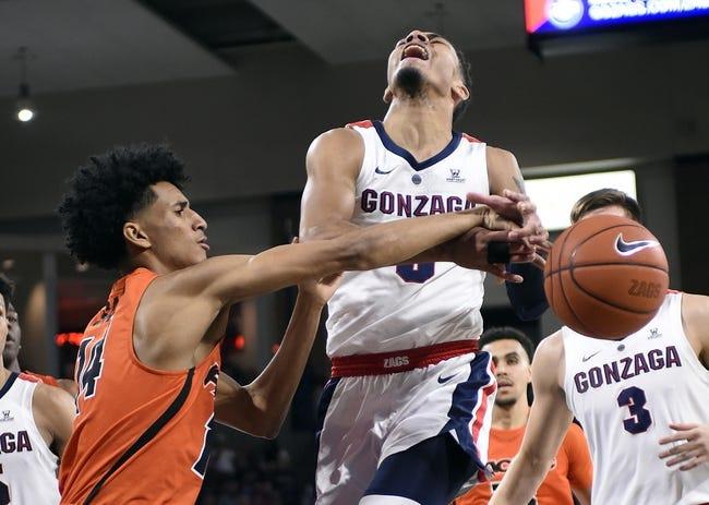 NCAA BB | Gonzaga at Pacific