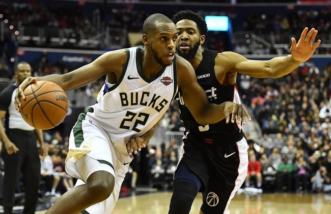 Washington Wizards vs. Milwaukee Bucks - 2/2/19 NBA Pick, Odds, and Prediction | Sports Chat Place