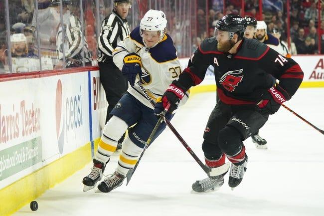 NHL | Buffalo Sabres at Carolina Hurricanes
