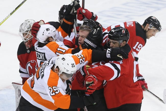 NHL | Philadelphia Flyers at New Jersey Devils