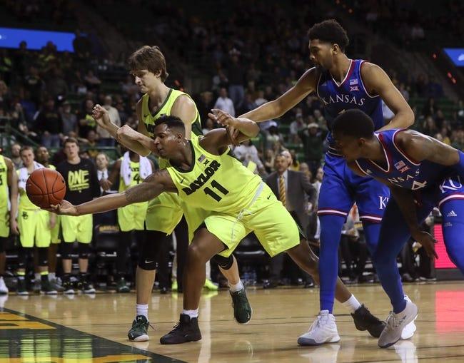NCAA BB | Baylor at Kansas