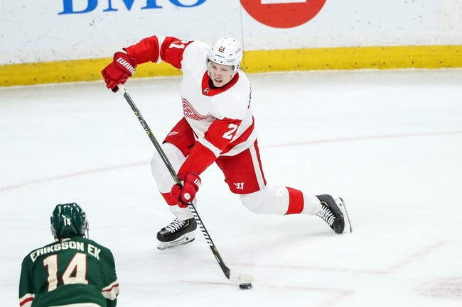NHL | Minnesota Wild at Detroit Red Wings