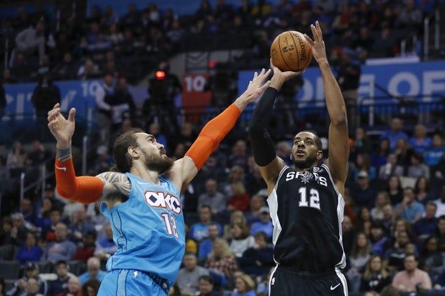 NBA | Oklahoma City Thunder at San Antonio Spurs