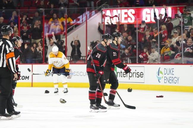 NHL | Carolina Hurricanes at Nashville Predators