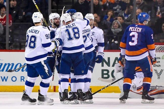 NHL   Tampa Bay Lightning at New York Islanders