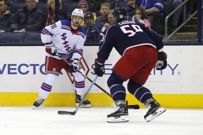 NHL | Columbus Blue Jackets at New York Rangers