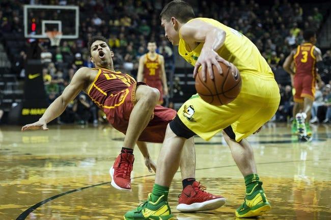 NCAA BB | Oregon at USC