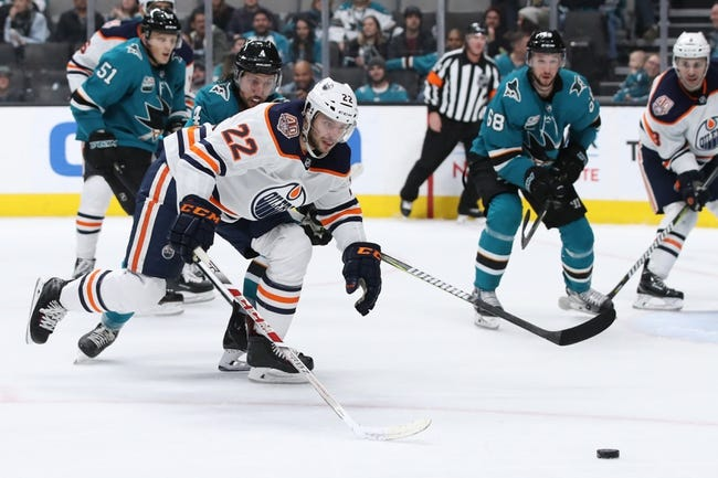 NHL   San Jose Sharks at Edmonton Oilers