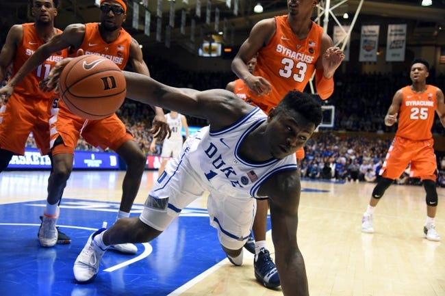 Syracuse Vs Duke 2 23 19 College Basketball Pick Odds And