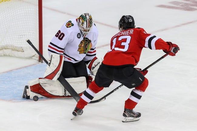 NHL   New Jersey Devils at Chicago Blackhawks