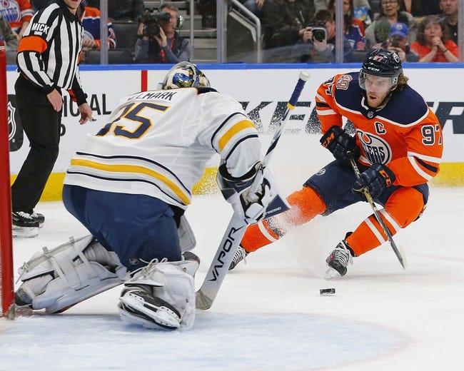 NHL   Edmonton Oilers at Buffalo Sabres