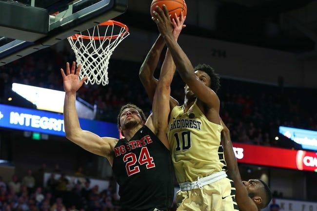 NCAA BB | North Carolina at Wake Forest