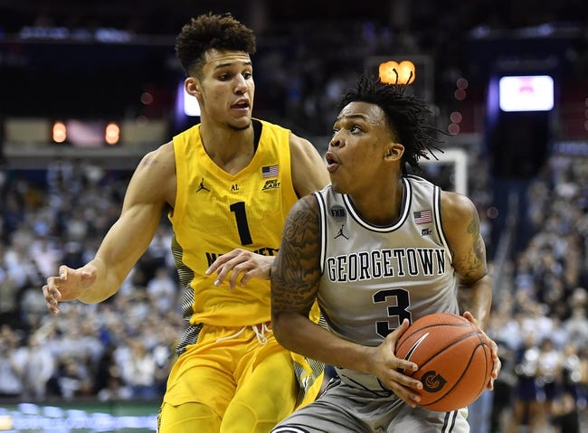 NCAA BB   Georgetown at Marquette