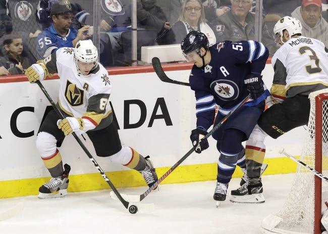 NHL   Winnipeg Jets at Vegas Golden Knights