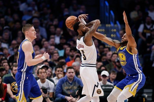 NBA | Denver Nuggets at Golden State Warriors