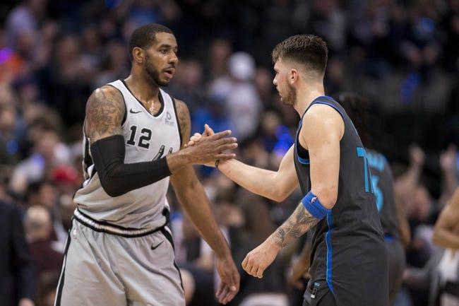 NBA   San Antonio Spurs at Dallas Mavericks
