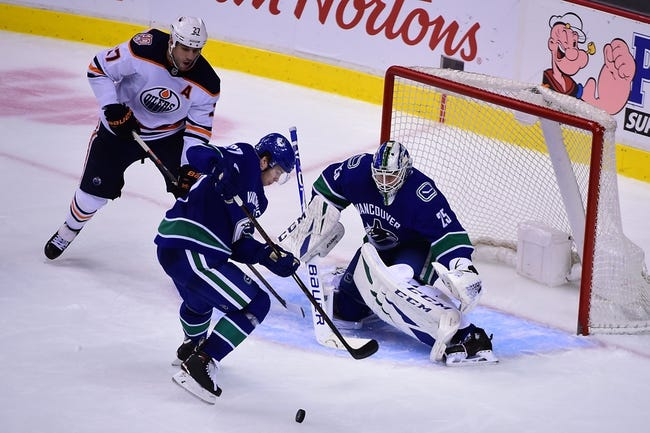 NHL | Vancouver Canucks at Edmonton Oilers