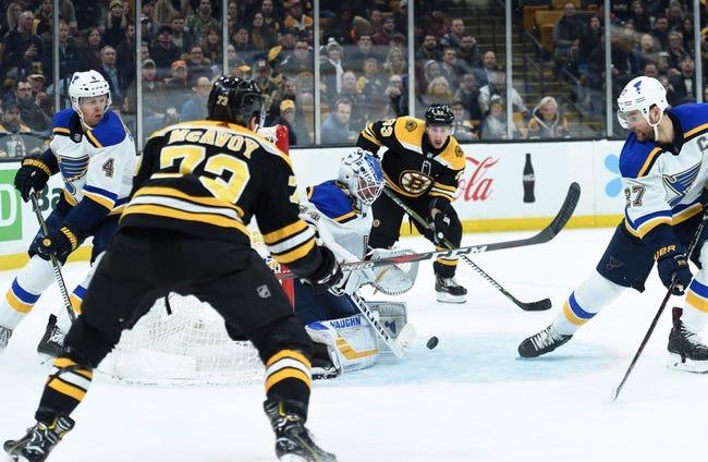 NHL | Boston Bruins at St. Louis Blues