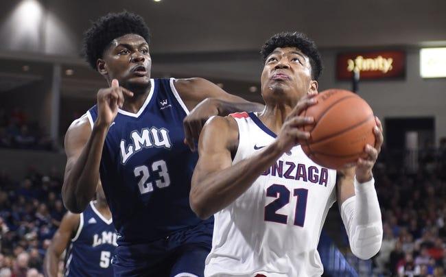 NCAA BB | Gonzaga at Loyola Marymount