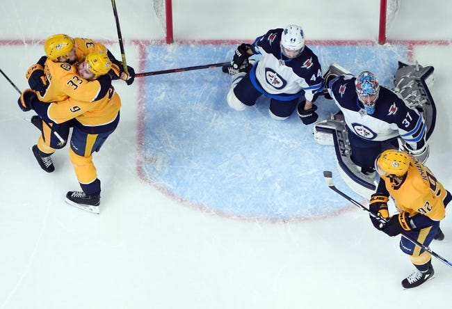 NHL   Nashville Predators at Winnipeg Jets