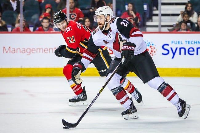 NHL | Arizona Coyotes at Calgary Flames