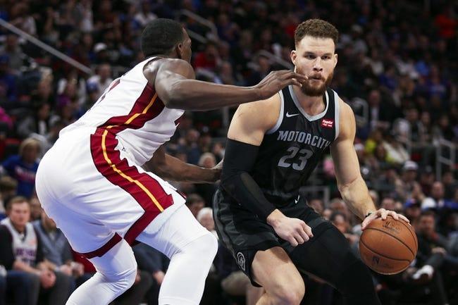 NBA   Detroit Pistons at Miami Heat