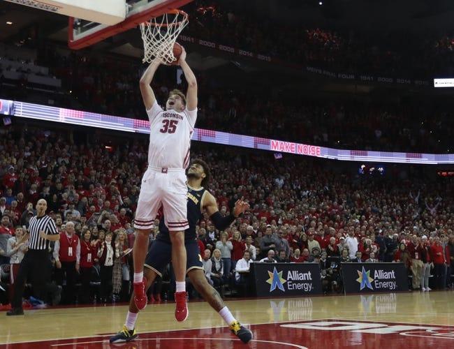 NCAA BB | Wisconsin at Michigan