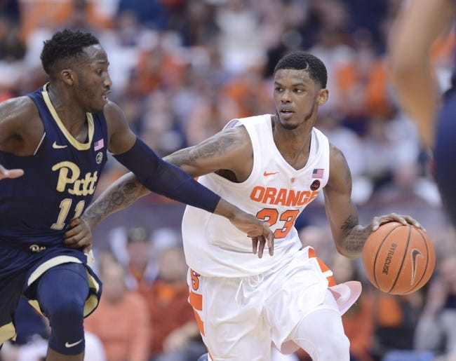 Pittsburgh Vs Syracuse 2 2 19 College Basketball Pick Odds And