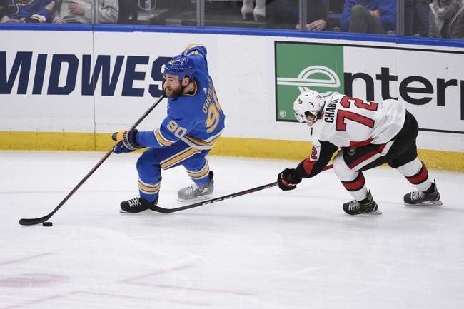 NHL   St. Louis Blues at Ottawa Senators