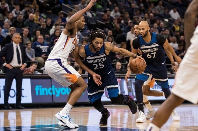 NBA   Minnesota Timberwolves at Phoenix Suns