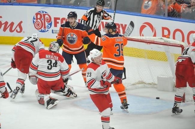 NHL | Edmonton Oilers at Carolina Hurricanes