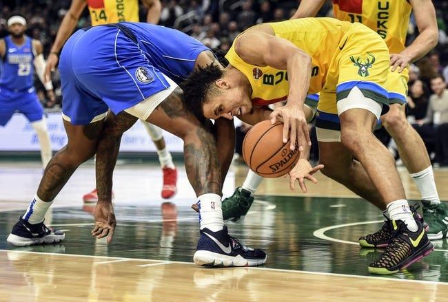 NBA | Milwaukee Bucks at Dallas Mavericks