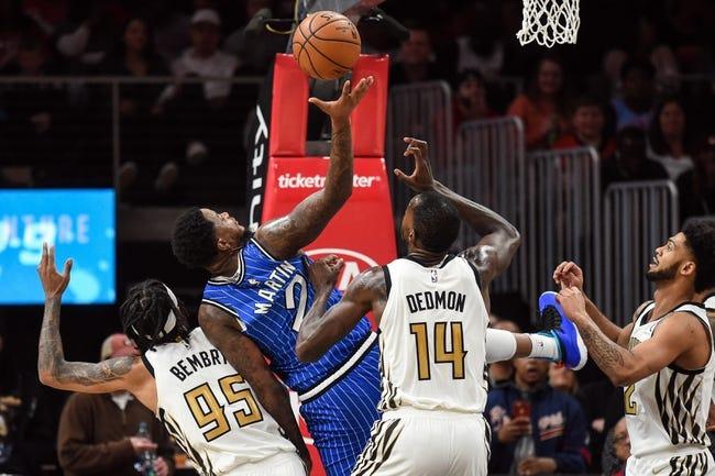 NBA   Orlando Magic at Atlanta Hawks