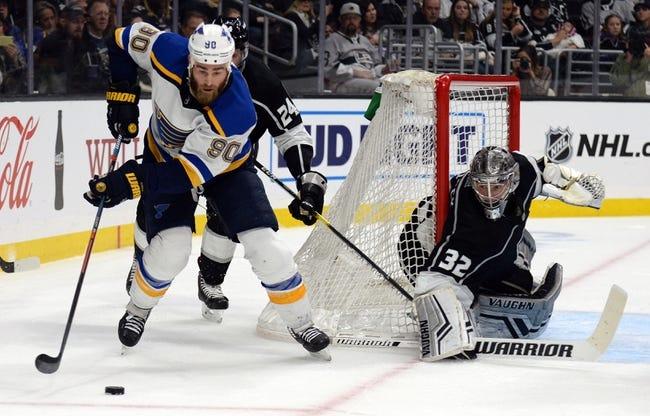 NHL | St. Louis Blues at Los Angeles Kings