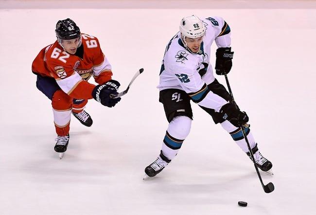 NHL   Florida Panthers at San Jose Sharks