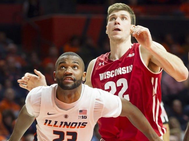 NCAA BB | Illinois at Wisconsin