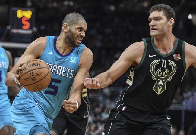 NBA   Charlotte Hornets at Milwaukee Bucks