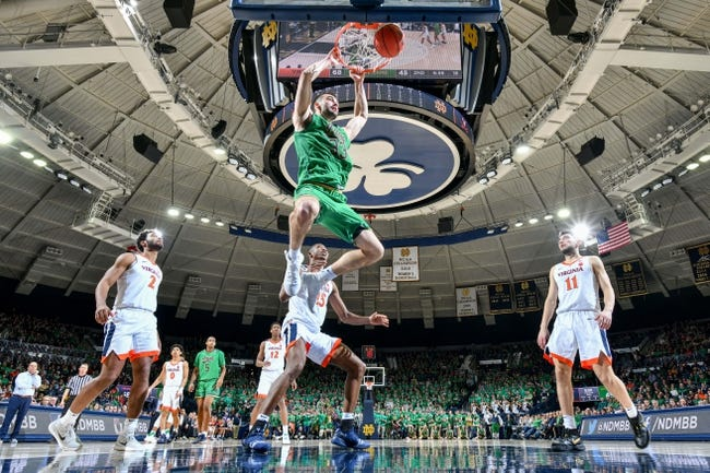 NCAA BB | Notre Dame at Virginia