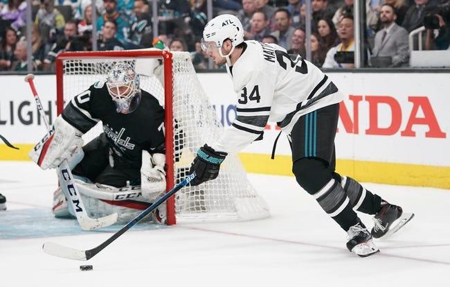 NHL   Washington Capitals at Toronto Maple Leafs
