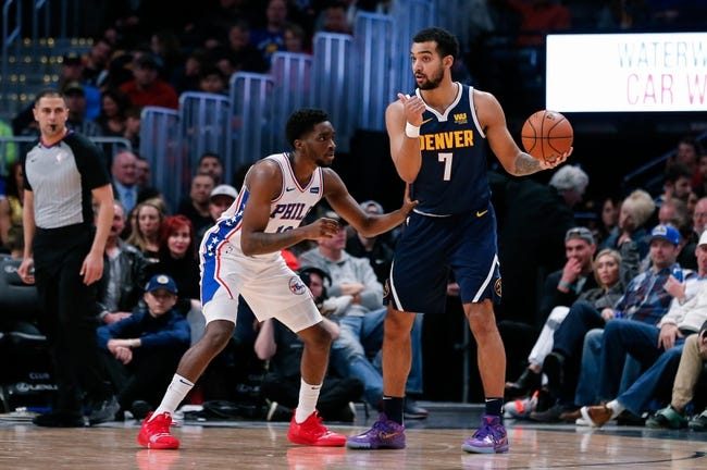 NBA | Denver Nuggets at Philadelphia 76ers