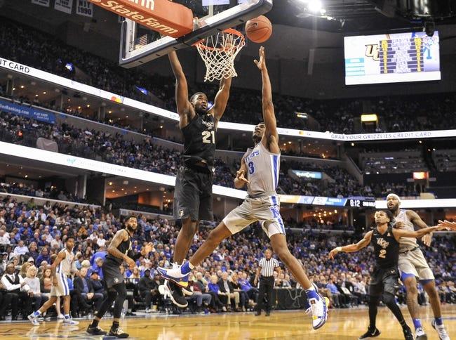 NCAA BB | Memphis at UCF