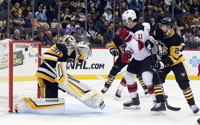NHL | Pittsburgh Penguins at New Jersey Devils
