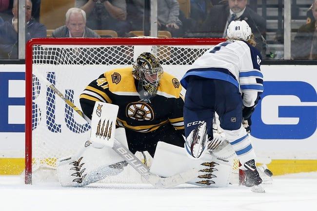 NHL   Boston Bruins at Winnipeg Jets