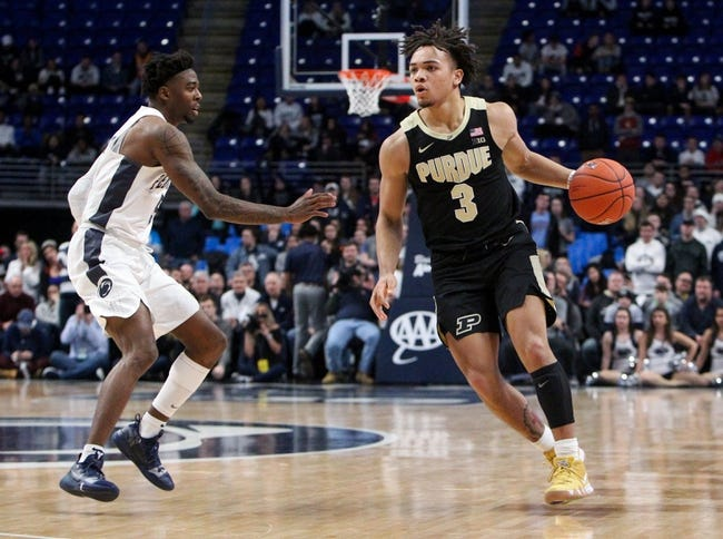 NCAA BB   Penn State at Purdue